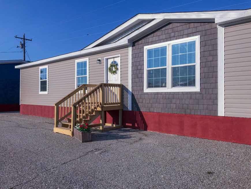 Delway Mobile Home Exterior